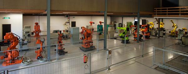 Reparo em controle de robôs