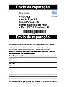 RMA form Brasil